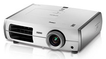 Photo Of The New Epson 8350 Mounted Inverted In The Theater: