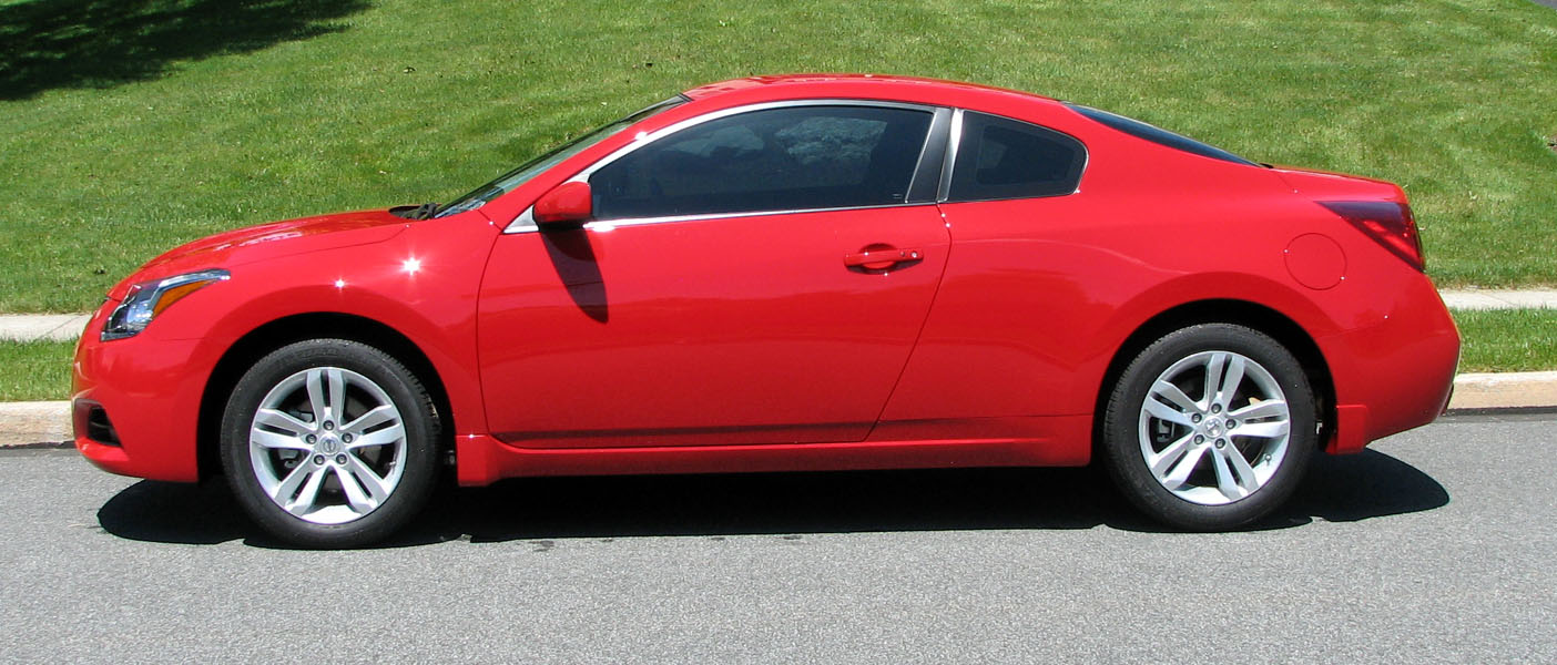 Nissan Altima 2.5S >> Gary Reighn's Nissan Altima 3.5S Coupe Page