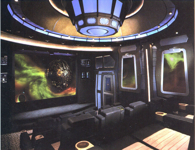 first impressions theme home theatre miami | Where No Home Theater Has Gone Before